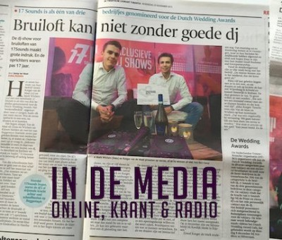 17 Sounds in de media #1