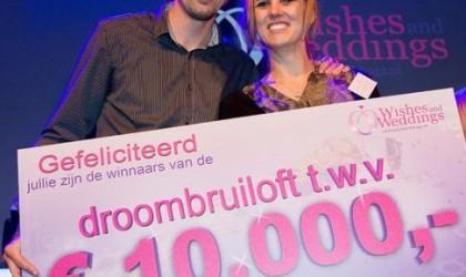 Win €10.000,- voor jullie droombruiloft!
