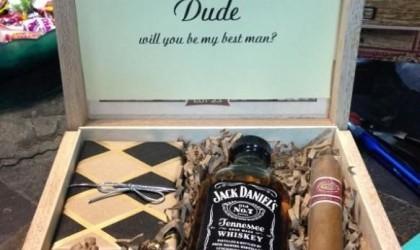 Bruiloft bedankjes, voor mannen!