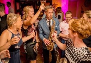 DJ met saxofonist ?