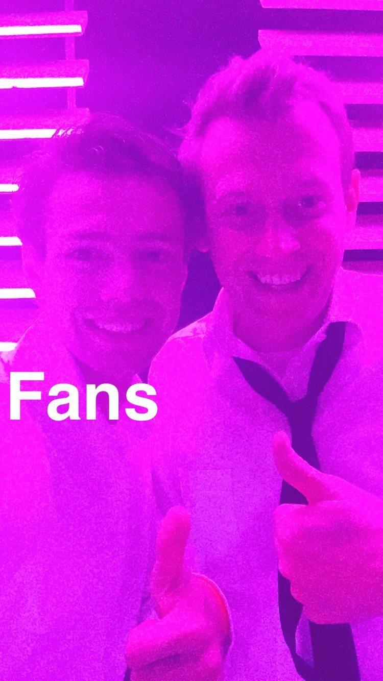 Rutger had fans!