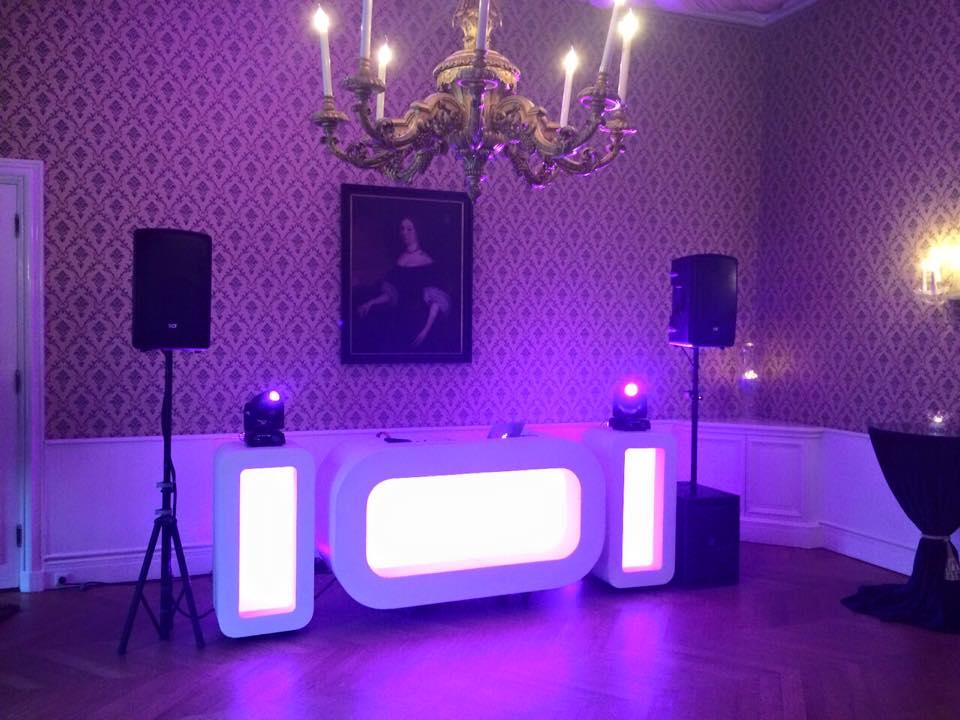 De DJ Show voor Jeroen & Sarina bij Huis de Voorst waar DJ Mark draaide!