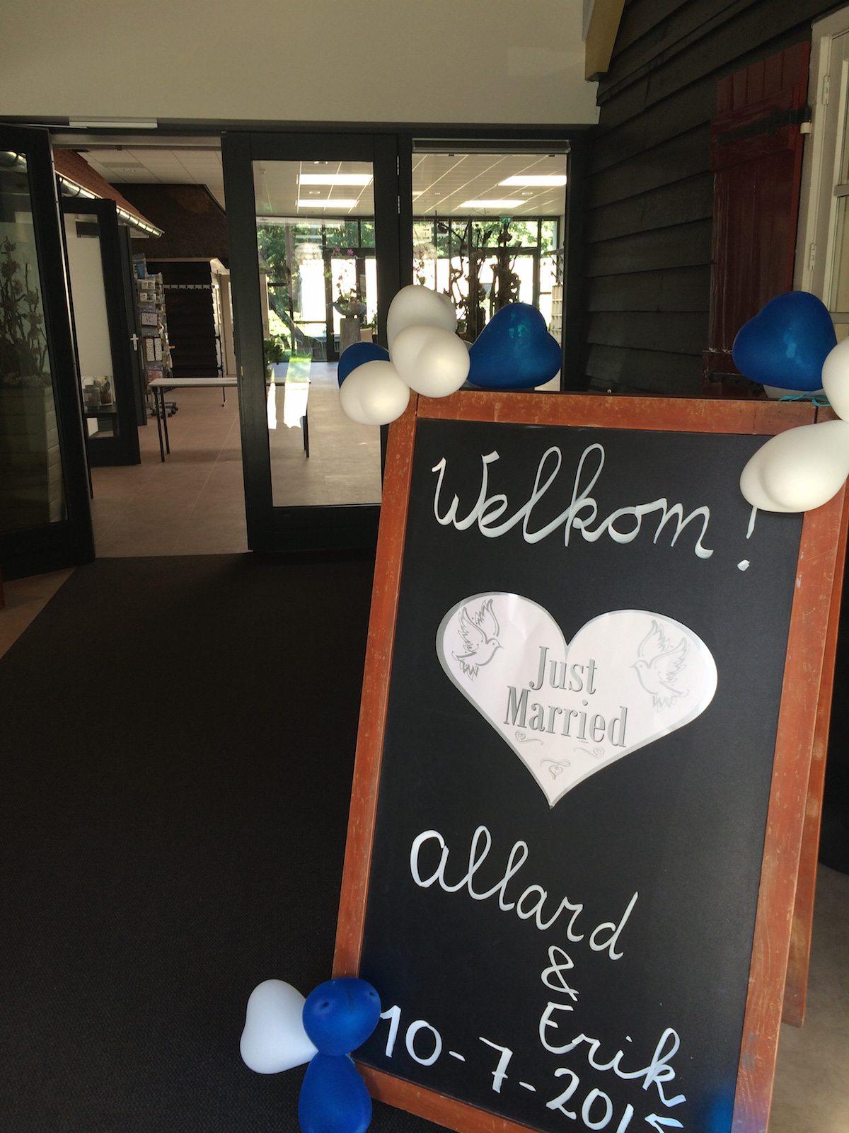 Een warm welkom voor Allard & Erik!