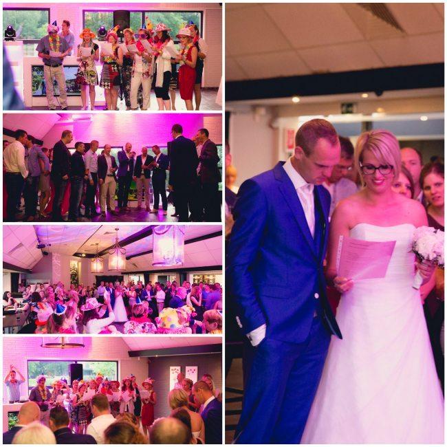 stukje bruiloft