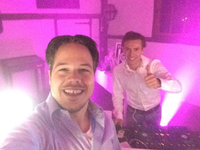 DJ Rutger @work #Dennis&Stefanie