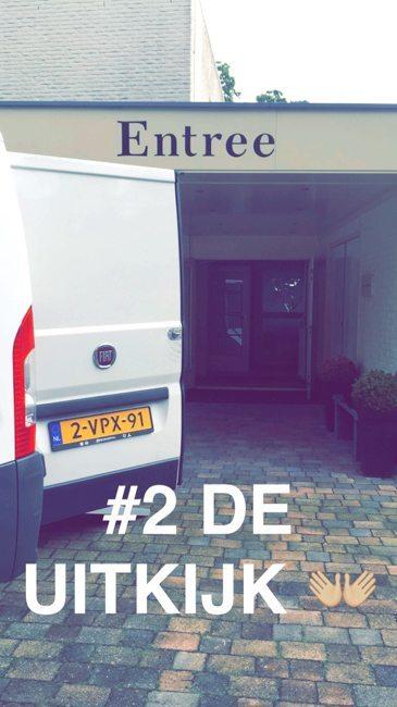De tweede show op vrijdagochtend werd gebouwd bij een favoriete locatie van ons: De Uitkijk in Hellendoorn!