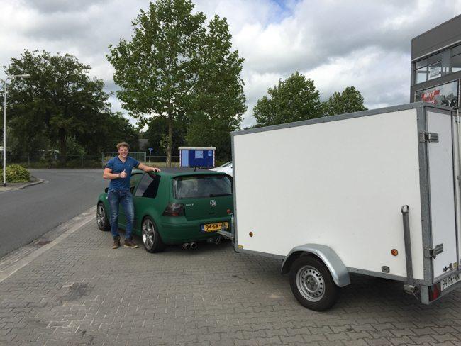 Jesse vertrok vrijdagmiddag naar Het Oude Slot in Heemstede om daar de exclusieve DJ Show op te bouwen! ?