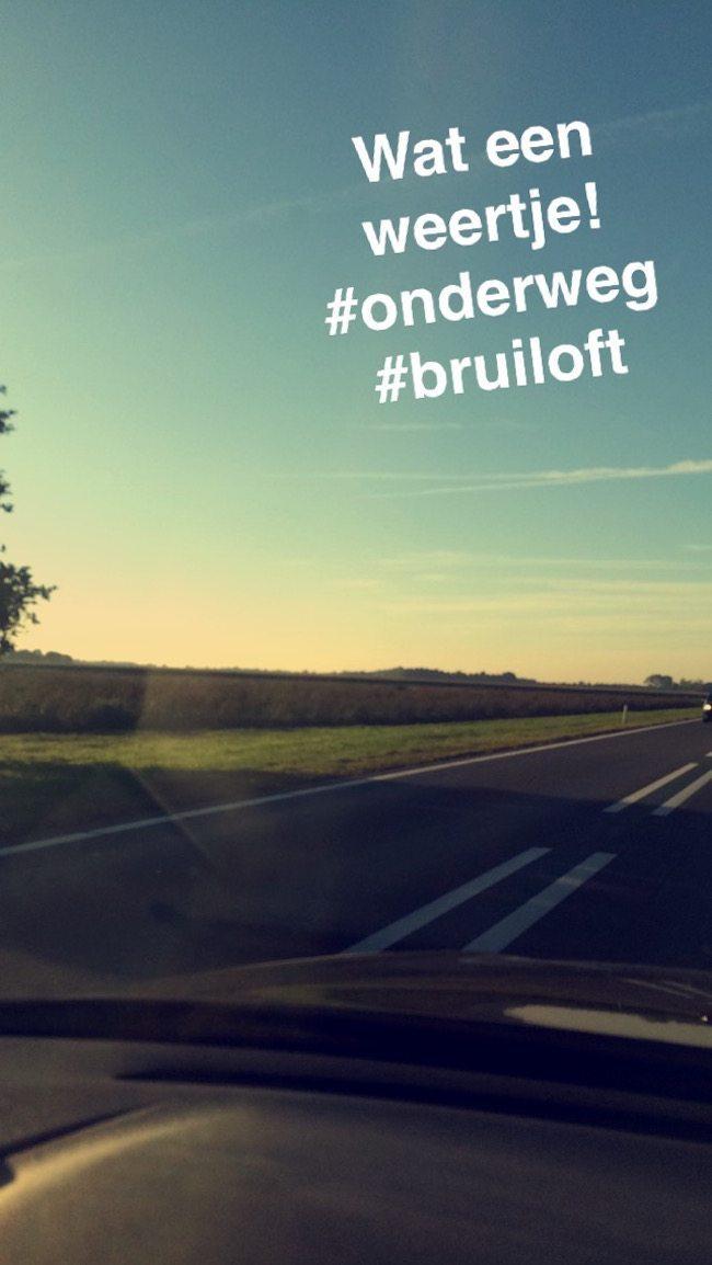 Onze eerste shows deze week op vrijdag! Wat een weer onderweg naar Westerbork! #nazomer ?