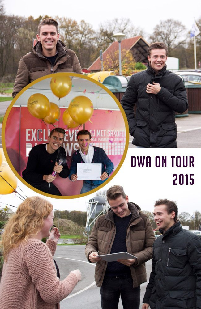 dutch wedding awards on tour 2015