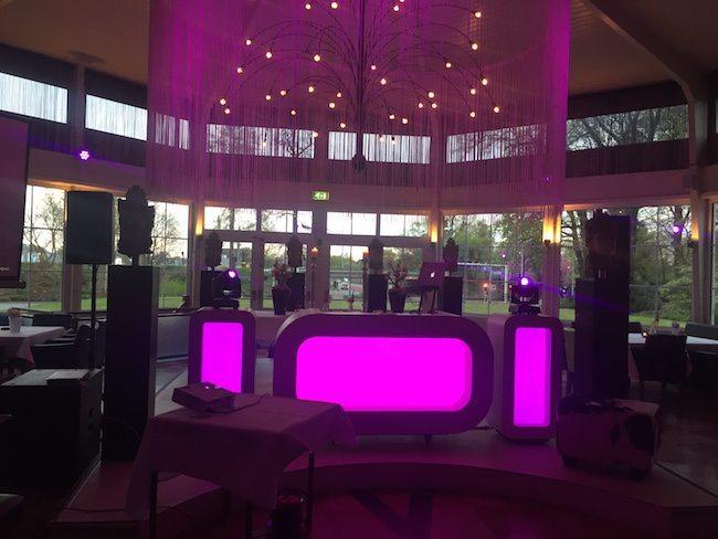 De Oval DJ show staat klaar voor Gijs & Kelly bij Parklocatie de Jaargetijden!