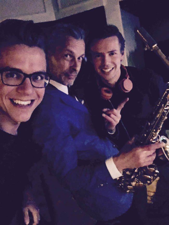 DJ met Saxofonist huren | 17 Sounds