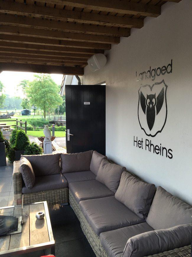 Op donderdag ging deze drukke week verder bij Landgoed het Rheins! ?