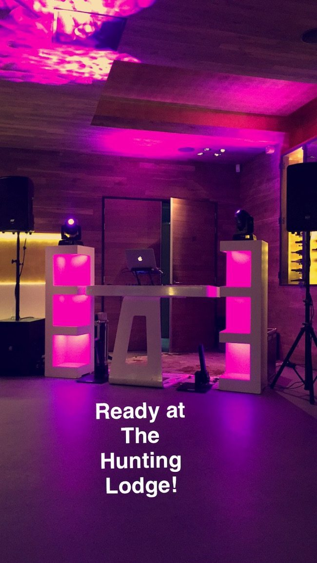 De Modern DJ Show voor Anita & Alex bij The Hunting Lodge met #confettishooters! ?✌?