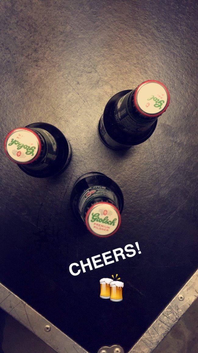 Het waren zes geslaagde feesten! Bij terugkomst staat er altijd een biertje klaar om even alle leuke verhalen te delen!