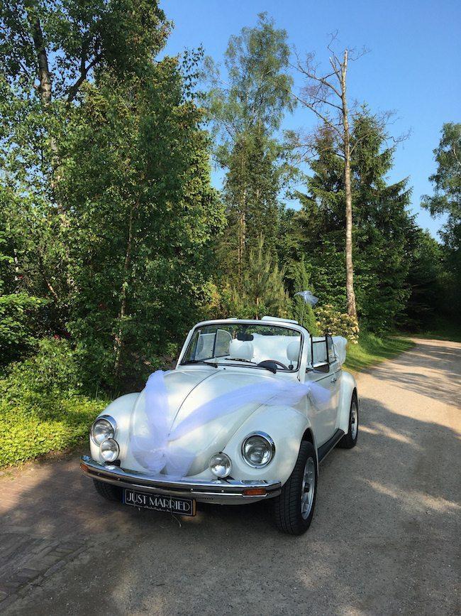 De trouwauto van Marloes & Maurice! Een super leuke oldtimer. Benieuwd naar de leukste oldtimer van Nederland? Check hem hier: Fiat 500 oldtimer