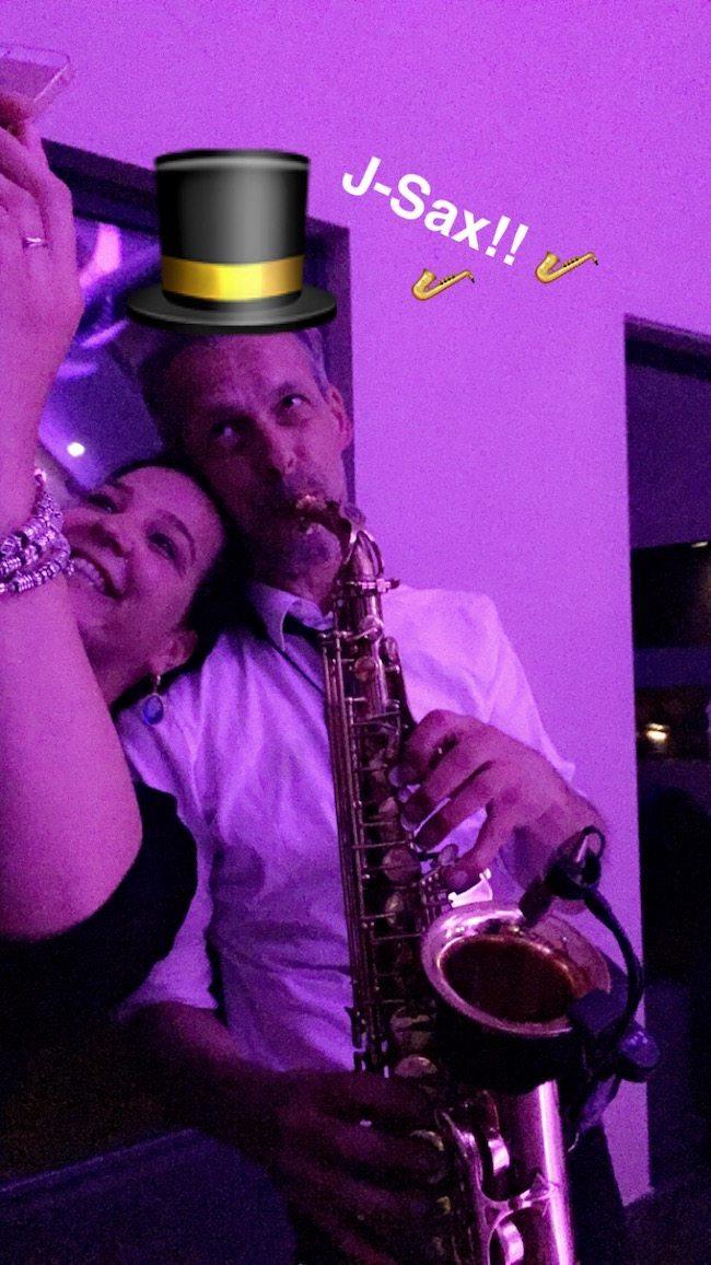 Ook J-Sax was van de partij in Denekamp! En.. hij had Fans! Veel fans! ? #selfie
