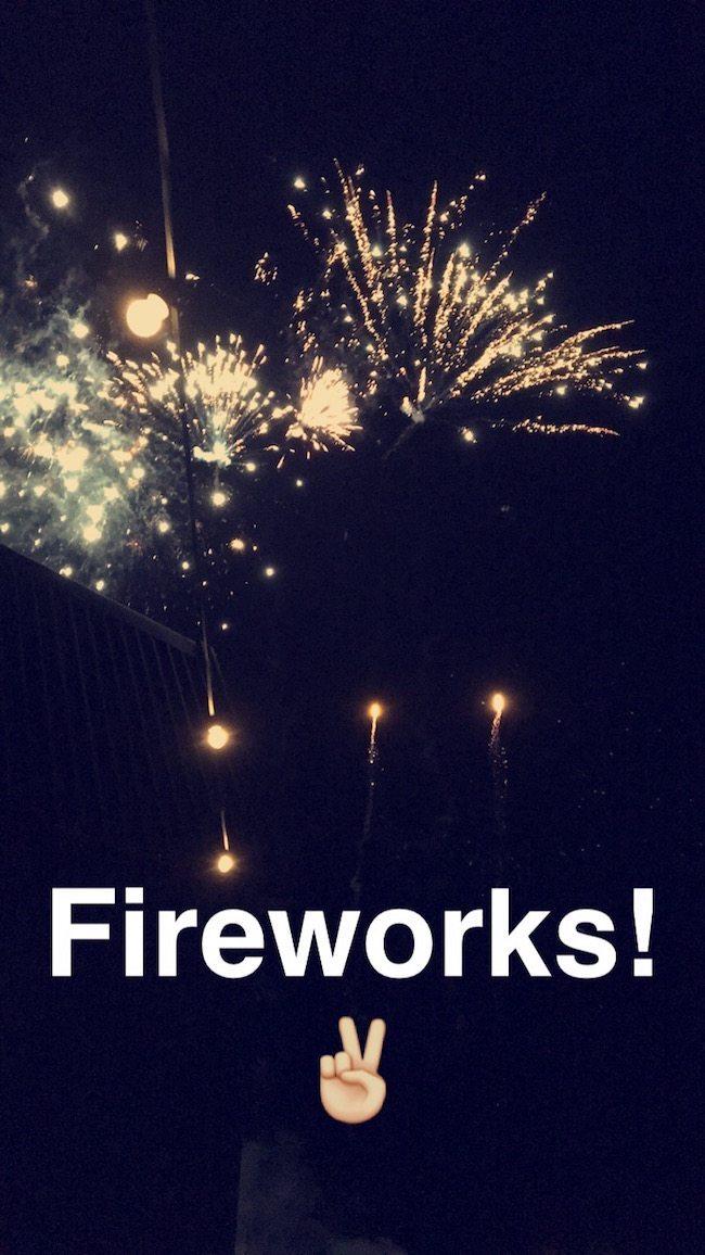 Voor het bruidspaar in Rijswijk, Laure & Marec, was er rond middernacht een vuurwerkshow! ??