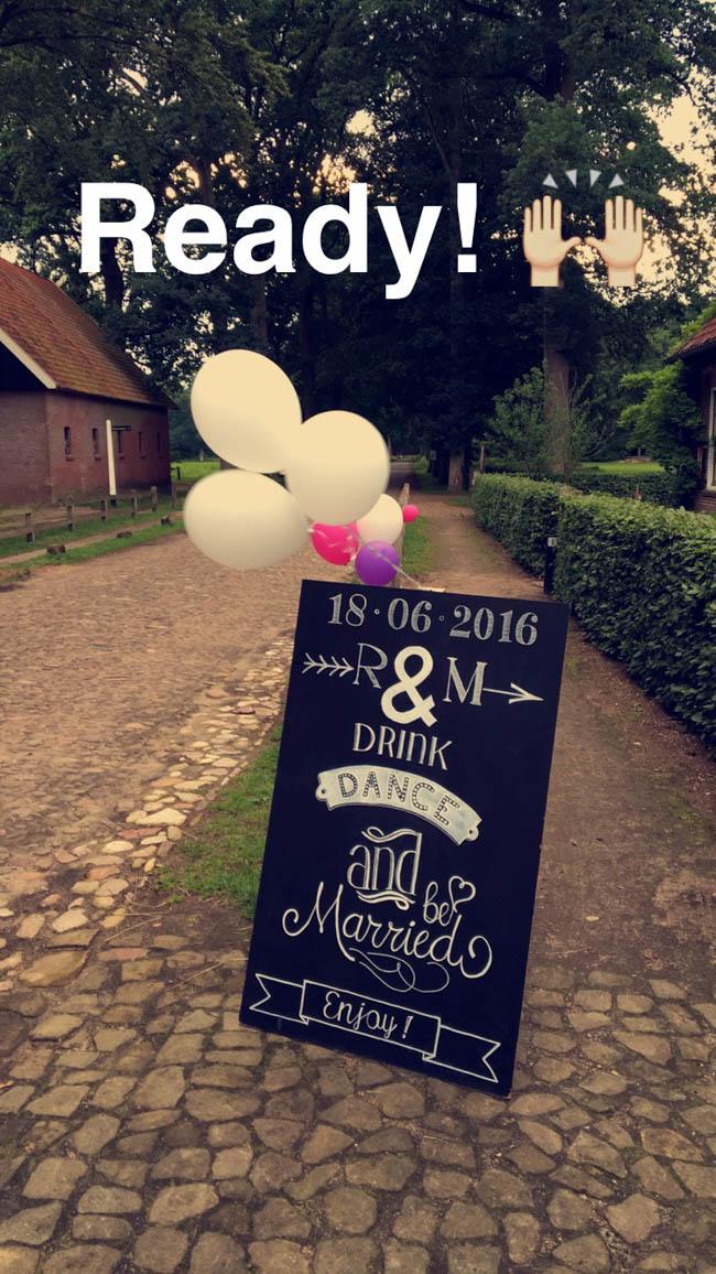 DJ Mark stond op de bruiloft van Ralph & Marinke bij de Watermolen te Singraven in Denekamp! ??