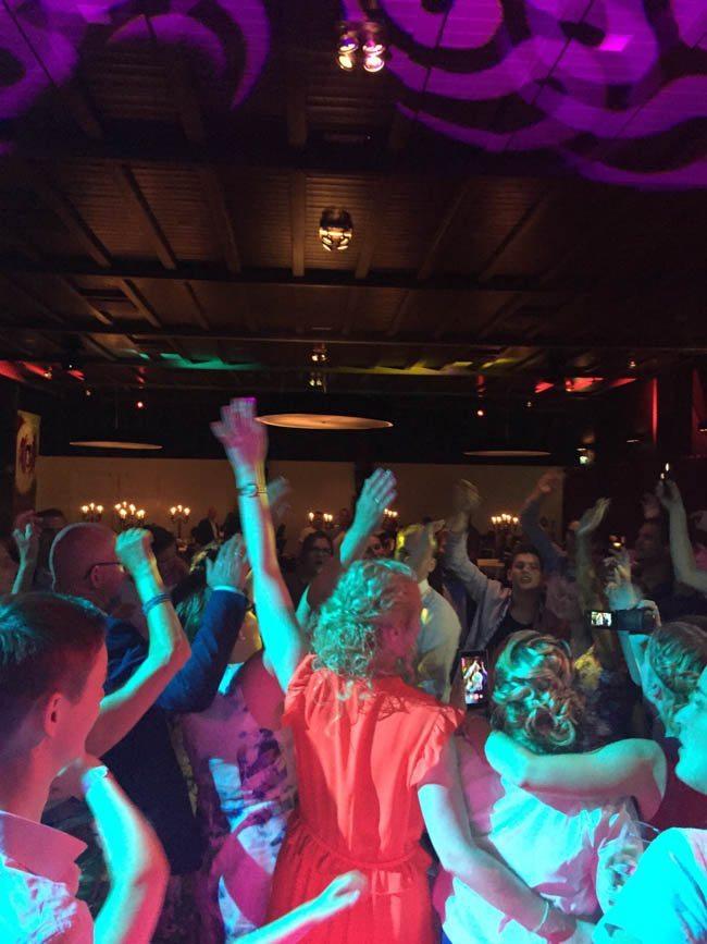 Nog een foto'tje dan; wat was het een heerlijk feestje! ?