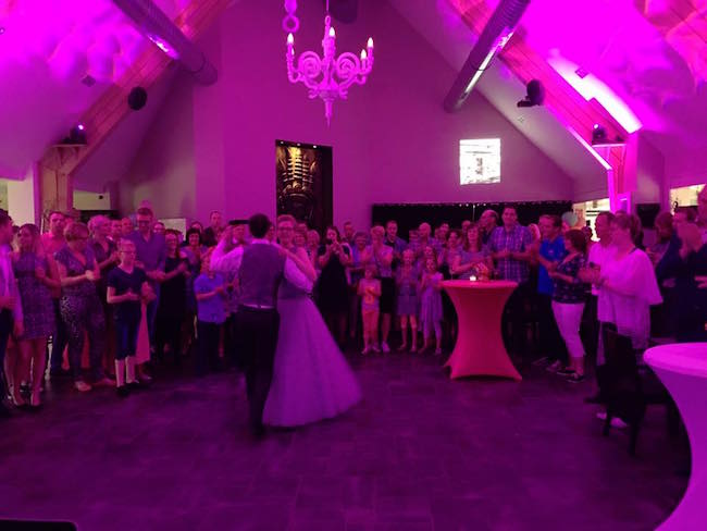 De openingsdans van Ellen & Roy! #celebration #firstdance ?