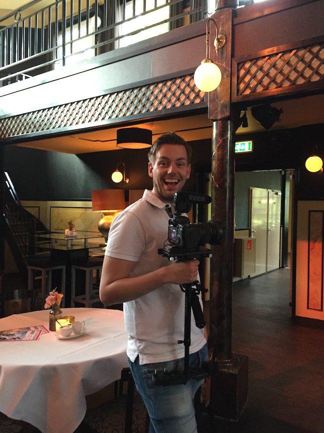 ?? Hallo Jan-Thijs Vlaskamp van JTMedia.nl! Hij legde de bruiloft van Erik-Jan & Marije op video vast! ?