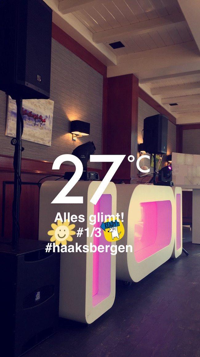 DJ Rutger stond donderdagavond bij 't Hagen in Haaksbergen op de bruiloft van Michelle & Koen! Alles glimt bij aanvang, ready to go! ??