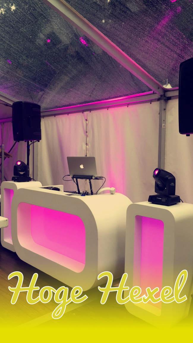 Snel door naar vrijdag! DJ Rutger stond op Landgoed Vossebosch te Hoge Hexel op de bruiloft van Jacqueline & Peter, ziet er strak uit, niet waar? ?#OvalDJShow