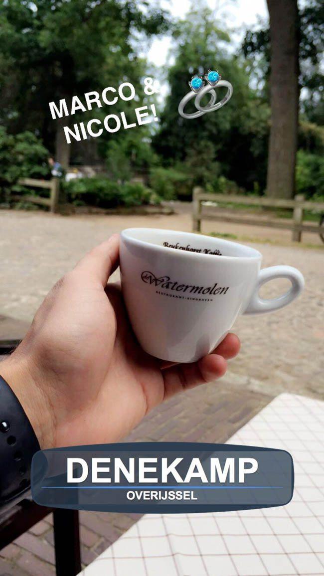 Zaterdag was het weer vroeg dag.. ? Snel een goede kop koffie drinken en door naar de volgende bruiloften! DJ Rutger maakte feest in Denekamp! ☕️