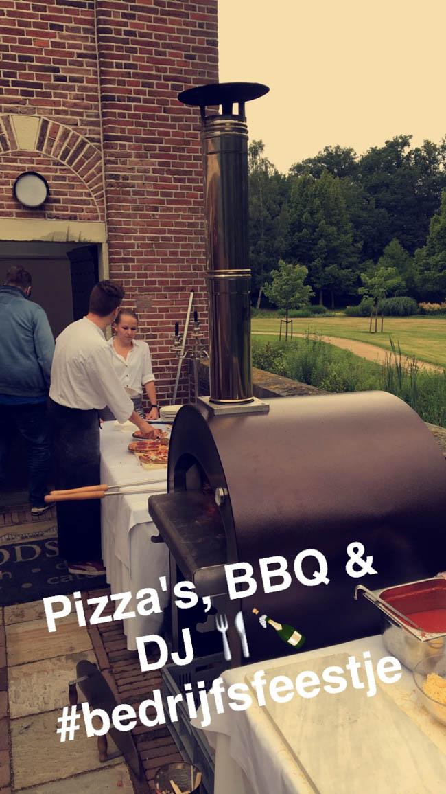 Onze week begon op donderdag met een bedrijfs barbecue van Reggefiber bij Havezathe Oosterhof te Rijssen. De catering was top geregeld door 't Brodshoes! ?