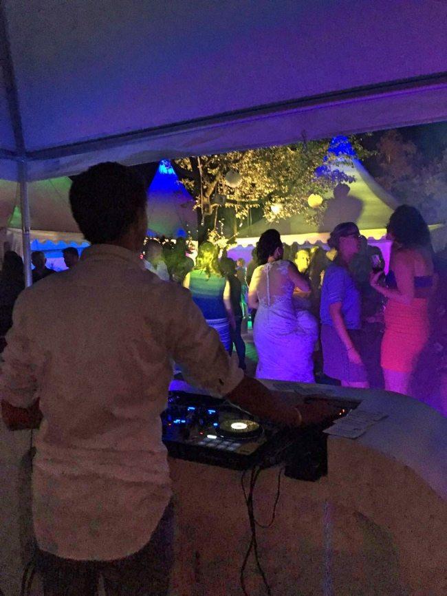 DJ Rutger in Actie bij Rene & Jeanine!