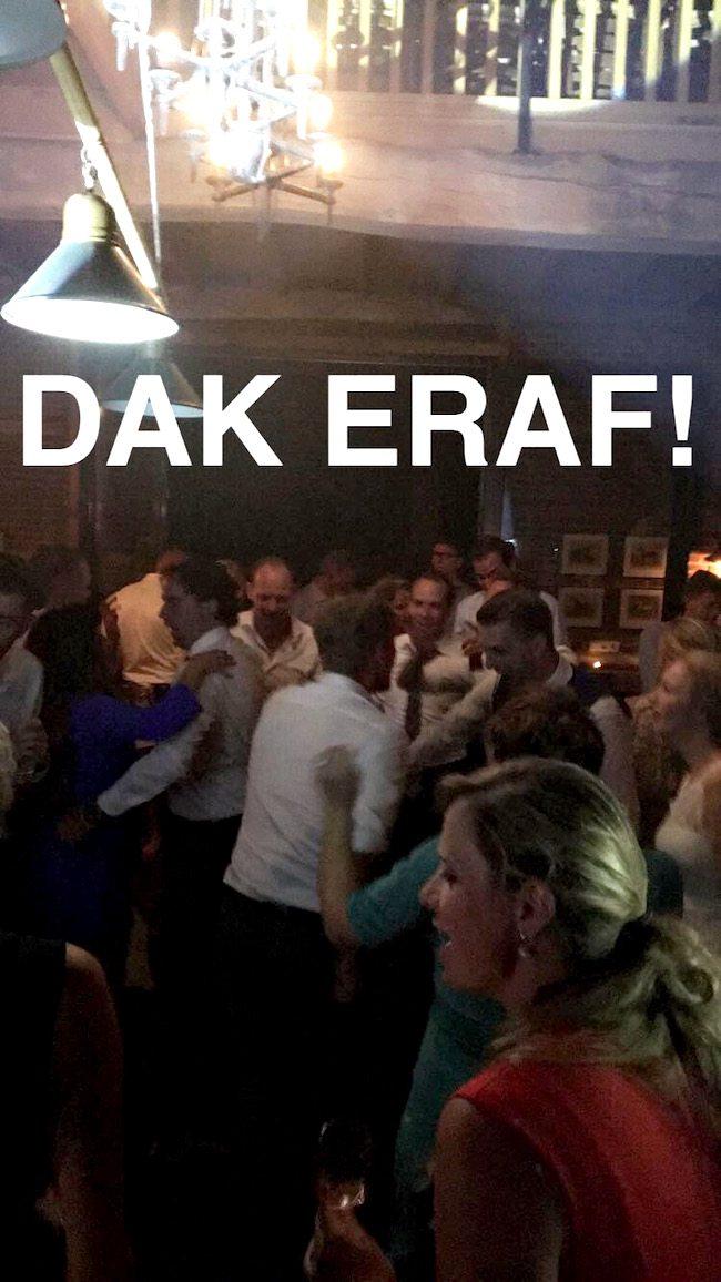 Bij het avondfeest van Robbert en Margreeth ging het helemaal los bij Erve Beverborg! :D
