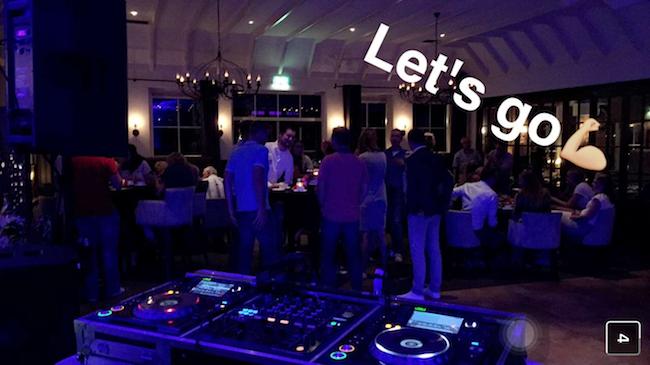DJ Olivier draaide op het feest van 2 vrienden (Matthijs en Raymond) bij Paviljoen het Lutterzand!