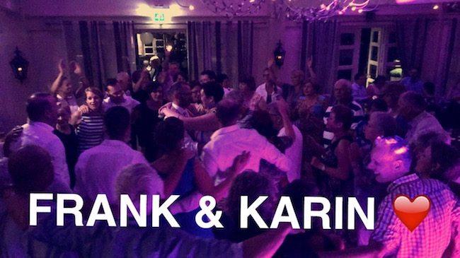 Een topfeest bij Kampkuiper! Karin & Frank, veel geluk samen! ??